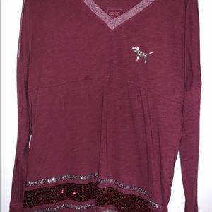 Long sleeve tee from PINK